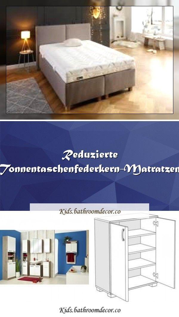 Reduzierte Tonnentaschenfederkern Matratzen In 2020 Small Furniture Mirror Cabinets Wood Cabinets
