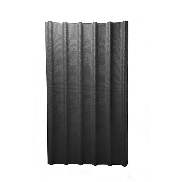 Ondura 6V 3.67-ft x 6.58-ft Ribbed Cellulose Fiber/Asphalt Roof Panel  Panels are sold individuallyDesigned for DIY roofing projects with wide flats to