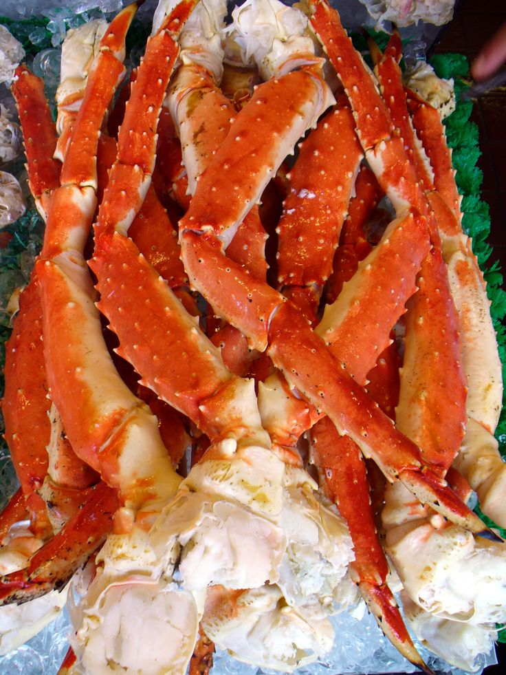 Absolutely massive Alaskan Red King Crab Legs! The size of these legs and the price for them will leave you dumbfounded and amazed!