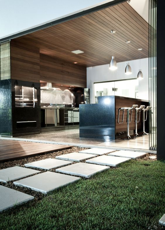 Best 25+ Modern outdoor kitchen ideas on Pinterest Asian outdoor - outside kitchen ideas