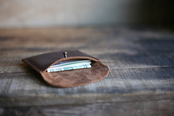 Simplicity. The Elliot wallet from Forestbound.