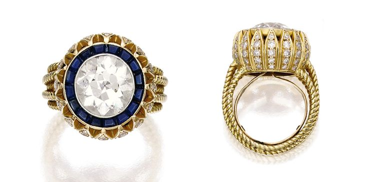 Look at Mary-Kate's $81k Engagement Ring! #diamonds