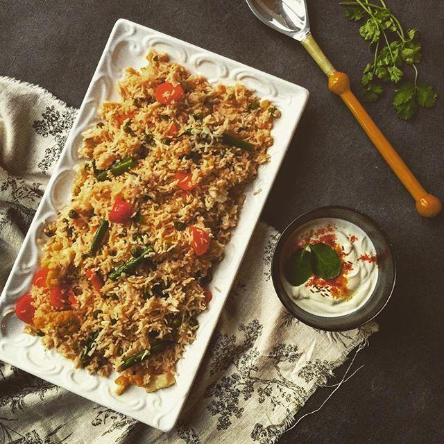 Vegetable Pilau Rice via @feedfeed on https://thefeedfeed.com/fredashafi_spiceitup/vegetable-pilau-rice