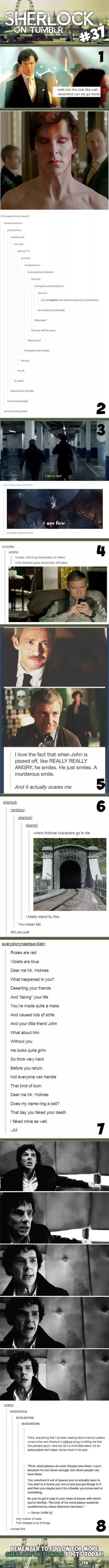 Sherlock On Tumblr #37 #IAmAGeek
