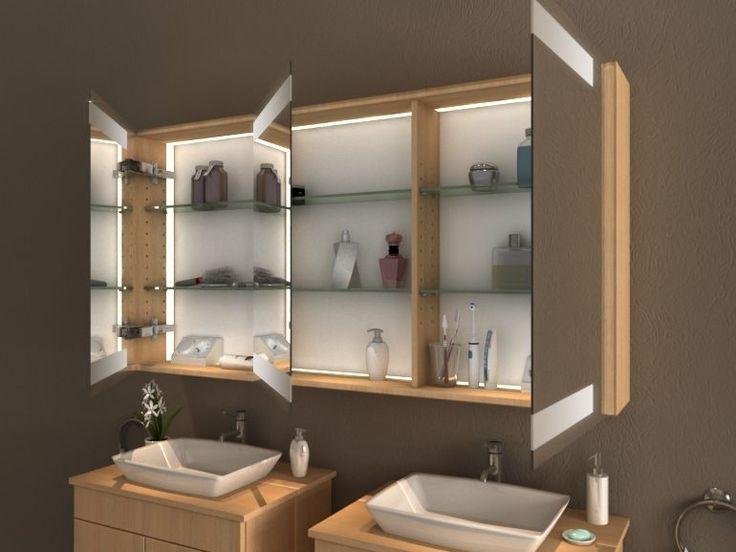 best 20+ spiegelschrank mit licht ideas on pinterest