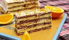 Nepečena torta sa turskim keksom i narandžom
