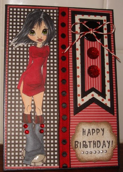 Females birthday cards by charlie horse - Cards and Paper Crafts at Splitcoaststampers