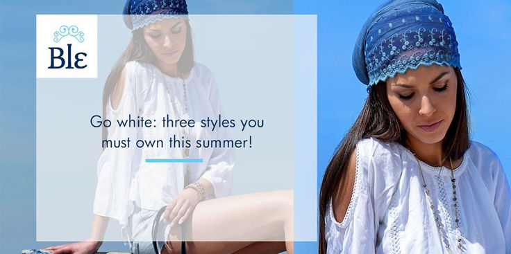 It's time to go white! Discover the three key-styles in white blouses and t-shirts that will totally transform your look this summer!