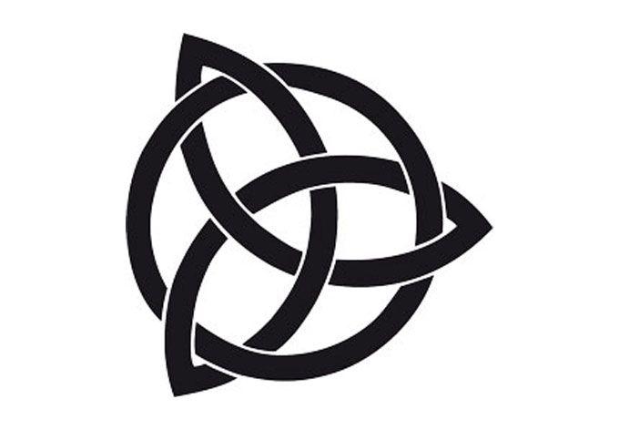 oneindige knoop: staat voor het oneindige (leven). uit het Keltische cultuur.