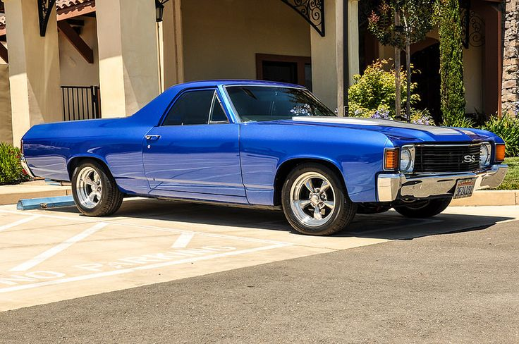 1972 Chevy El Camino SS  - 4MO Design for all your building construction plans. 909-518-5736 - Great Lines!
