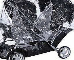 Generic RAINCOVER TO FIT COSATTO SHUFFLE TANDEM PUSHCHAIR RAINCOVER TO FIT COSATTO SHUFFLE TANDEM PUSHCHAIR GOOD QUALITY PVC BRAND NEW IN PACKAGING - WE HAVE BEEN MAKING RAIN COVERS SINCE 1987! CHECK OUT OUR GREAT FEEDBACK! FAST (Barcode EAN = 5060235629525) http://www.comparestoreprices.co.uk/december-2016-week-1/generic-raincover-to-fit-cosatto-shuffle-tandem-pushchair.asp