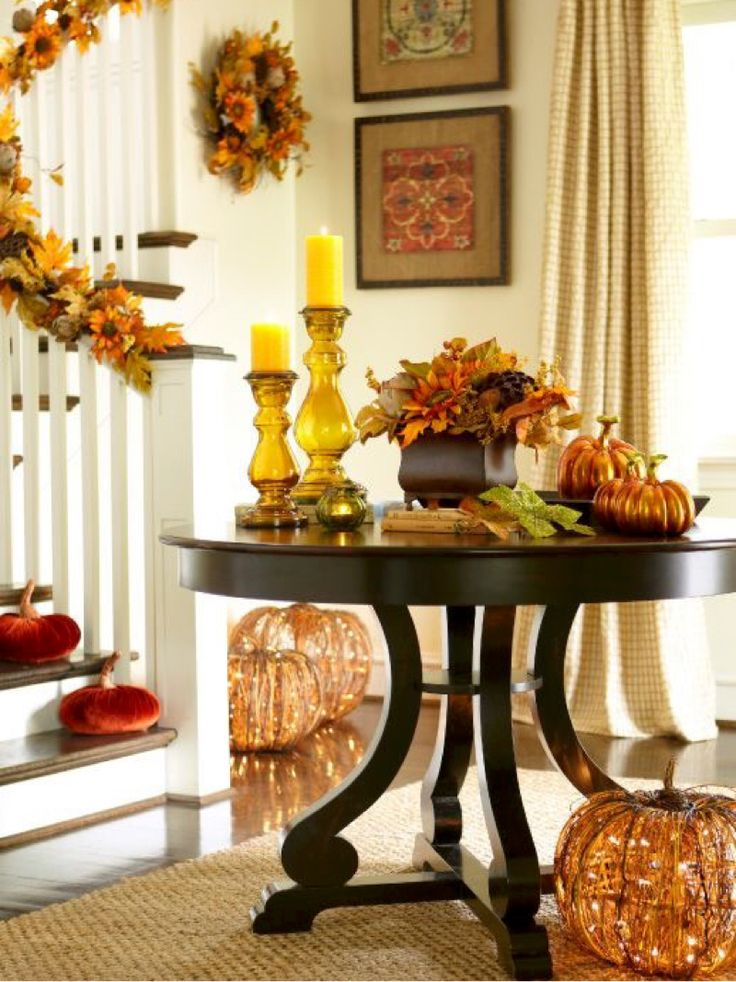 Thanksgiving Foyer Decor : Autumn home fall splendor pinterest