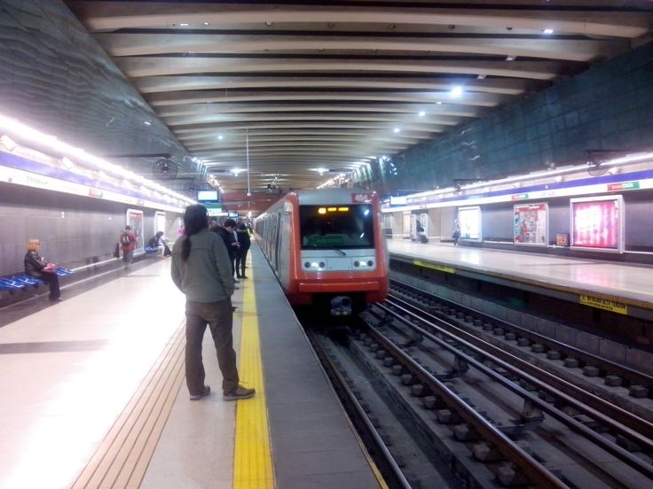 Estacion Metro Vicente Valdes. La Florida. Chile.
