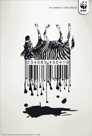 no commerce with animals // WWF