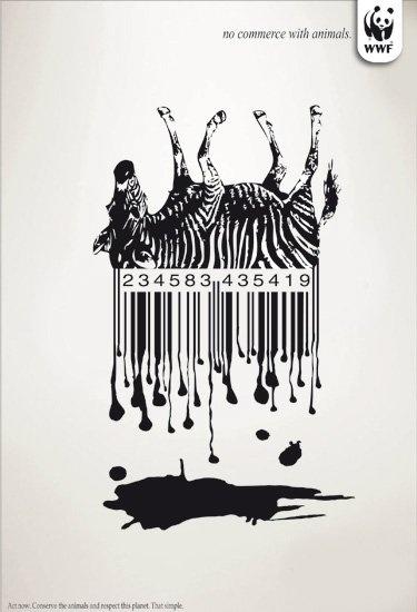 No commerce with animals... #WWF