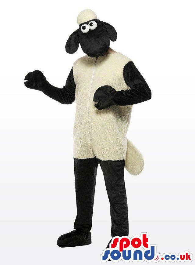 #sheep #mascots by #spotsound_uk -Discover all our #sheeps #mascots #costumes for your marketing events on: http://www.spotsound.co.uk/114-mascots-sheep - 7 sizes available with fast shipping over the world ! We can also customize your future #sheep #mascot ! Visit us ;)