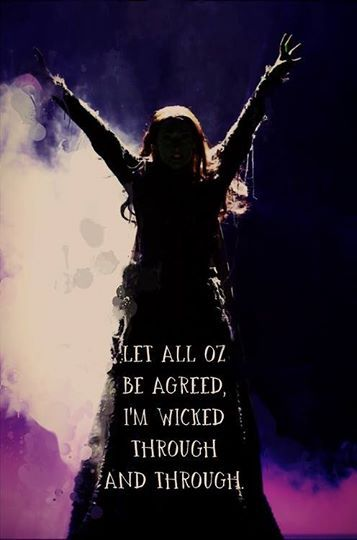 """""""Let all oz be agreed I'm wicked through and through since I can not succeed Fiyero saving you I promise no good deed will I intend to do again ever again no good deed will I do again"""""""