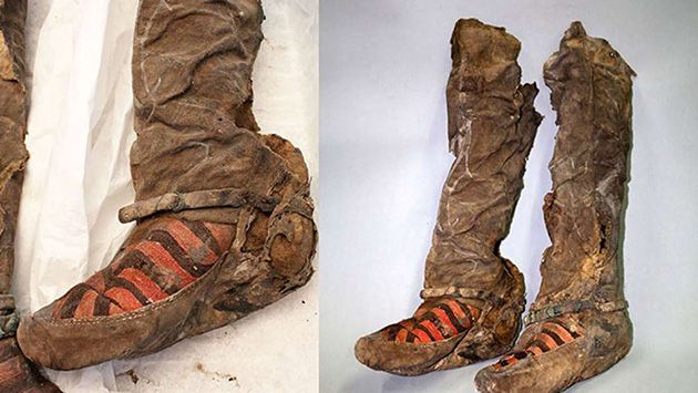 When archaeologists in Mongolia stumbled across the remains of a 1,100-year-old mummy, they were surprised to that the corpse was still wearing footwear ...