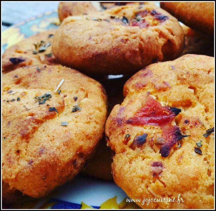 Cookies Parmesan, Tomates séchées & Pignons de Pin pour un apéro aux parfums d'Italie