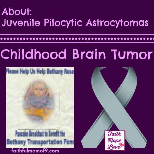 juvenile pilocytic astrocytoma #braintumor #braincancer