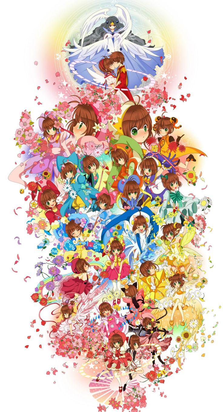 Cardcaptor Sakura | CLAMP | Madhouse / Kinomoto Sakura, Li Shaoran, and The Hope Card / 「4♥1」/「BoTTLe」のイラスト [pixiv]