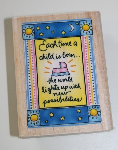 Rubber Stamp by Inkadinkado  Baby 6695
