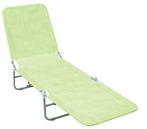Rio Brands Backpack Lounger Multi Position Lime Texture