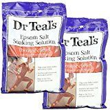 Dr. Teal's therapeutic soaking aid combines the benefits of magnesium sulfate epsom slats with mint and rosemary to soothe the senses, relax tense muscles, and promote well-being. This finished product is not tested on animals. Made in the USA. Distr...