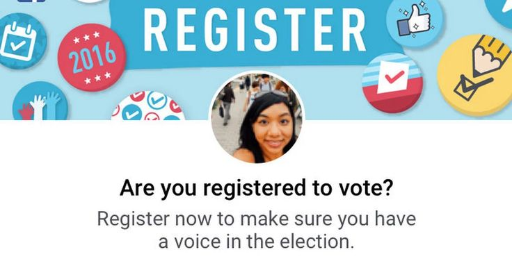 Facebook Helped Drive a Voter Registration Surge, Election Officials Say - The New York Times