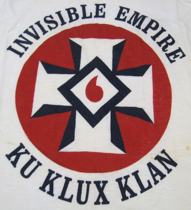 This A Symbol Of The Kkk They Kkk Was Creating Because The African