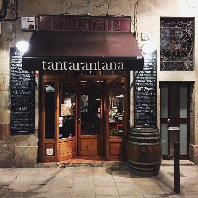 #tapas @ Tantarantana #Barcelona