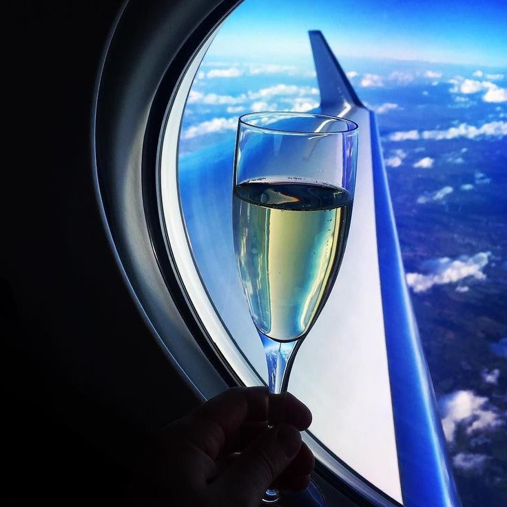 Cheers to a jolly good week ahead folks! Lots of xmas shopping and organising to do but I do love the noël mood  (via # @drone.360) #cheers #haveagoodweek #privatejet #travelblogger #luxurylifestyle #champagne #jetset #life #plane #gulfstream #jets #clouds #sky #airplanewindow #airplanechampagne #BeautyAirlines
