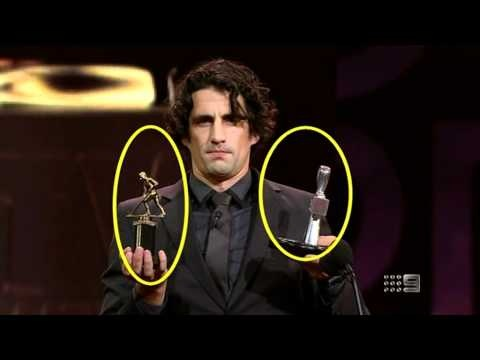 Logies 2012: Hamish & Andy with their Telestrator