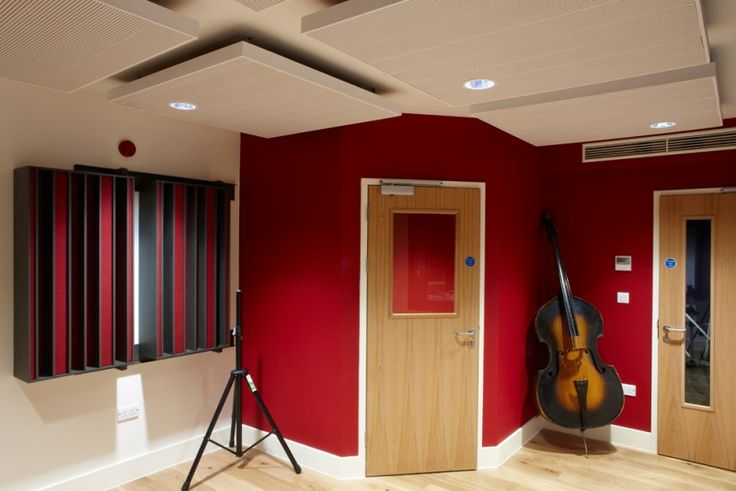 Vocal Booth In A Living Room