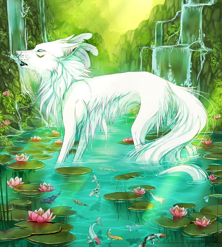 .:Water Lily:. by Aviaku.deviantart.com on @DeviantArt