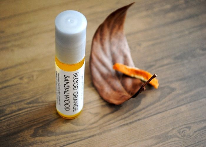 Blood Orange Sandalwood Perfume Oil