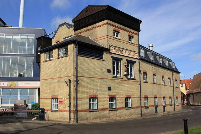 Adnams Brewery, Victoria Street, Southwold, Suffolk. 2012 by Ian 10B, via Flickr