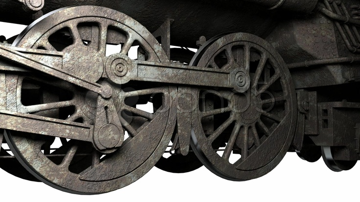 HD 720 - $15 - Wheel of antique train - Stock Footage | by anyunoff