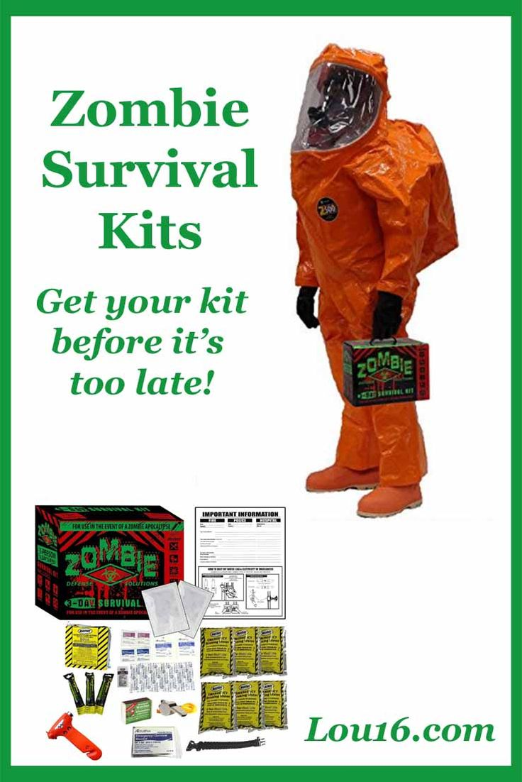 Zombie Survival Kits make great gift ideas, especially for Zombie fans although to be honest everyone could probably do with a survival kit in their homes...