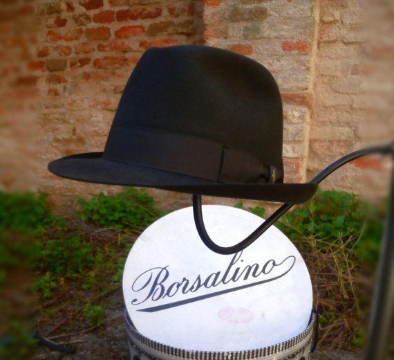 Borsalino Qualitá Superiore of 1980s. Check out this item in my Etsy shop https://www.etsy.com/listing/277046910/borsalino-qualita-superiore-vintage-hat