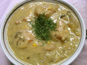 簡単!コーンと鶏肉のコーンクリームスープ by 331ミミイ [クックパッド] 簡単おいしいみんなのレシピが256万品