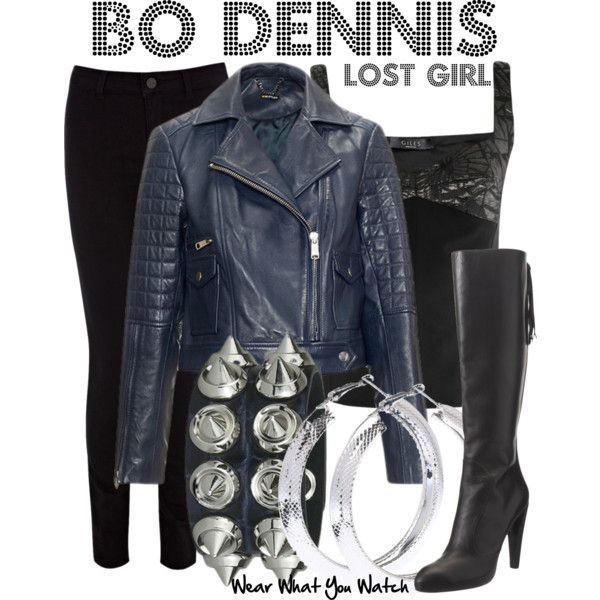 Inspired by Anna Silk as Bo Dennis on Lost Girl. Love her style