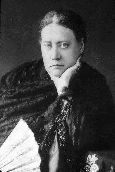 Madame Helena Blavatsky priest/scholar/warrior/king