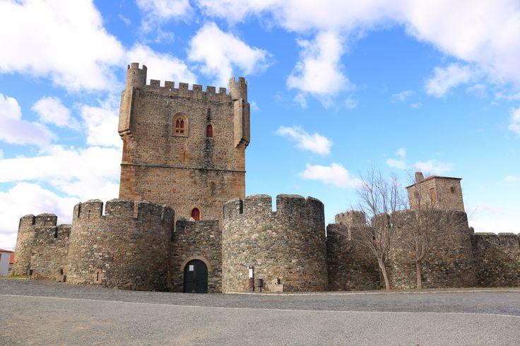 Castelo de Bragança, no Norte de Portugal