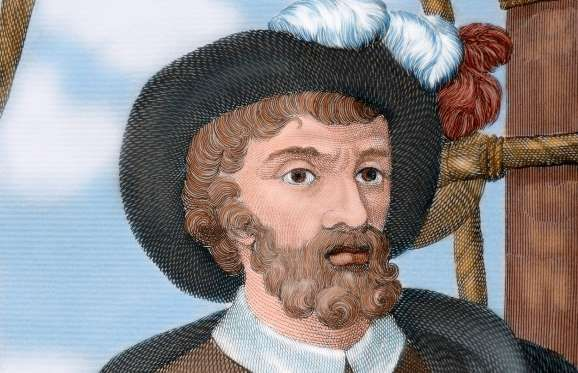 Juan Sebastián Elcano - The Spanish fleet, called the Armada de Molucca, comprised five ships and 270 men, when it began the journey on Sept. 20, 1519. After Magellan's death during the Battle of Mactan, Elcano (pictured) commandeered a single ship, named Victoria, with a crew of 18 men and returned home on Sept. 6, 1522. He sailed across the Indian Ocean, around the Cape of Good Hope, traversing along the west coast of Africa to finally arrive in Spain.