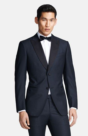 Z Zegna - Black Wool Tuxedo