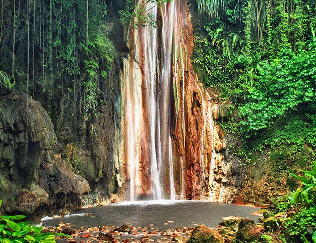 Diamond Falls - Soufrière Estate   14 Top-Rated Tourist Attractions in St Lucia   PlanetWare