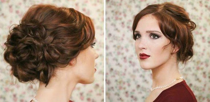 Výsledok vyhľadávania obrázkov pre dopyt učesy na stužkovú pre polodlhe vlasy