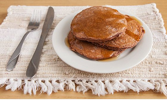 THE ULTIMATE MUSCLE-BUILDING ANY FLAVOR PANCAKE