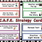 """cafe strategy cards"" on TPT (cafe and daily 5)"